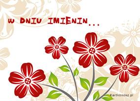 eKartki Z okazji Dnia Kartka z kwiatuszkami,