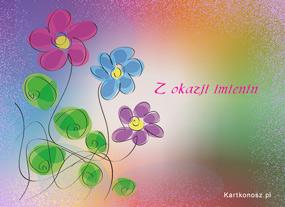 eKartki Z okazji Dnia Kwiatki na imieninki,