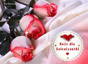 eKartki Z okazji Dnia Róże dla Solenizantki,