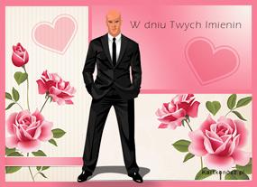 eKartki Z okazji Dnia Róże od Dżentelmena,
