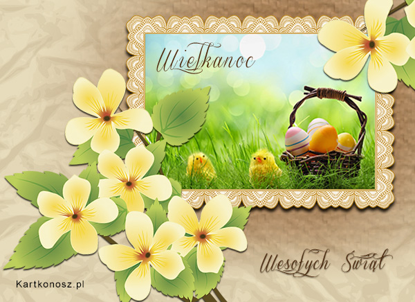 Wielkanocna pocztówka