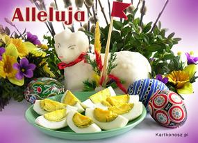 eKartki Wielkanoc Baranek z cukru,