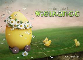 eKartki Wielkanoc Nadchodzi Wielkanoc,