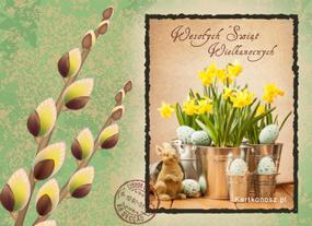e Kartki  z tagiem: Kartki świąteczne Urocza Wielkanoc,