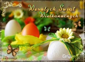 e Kartki  Wielkanocne życzenia,