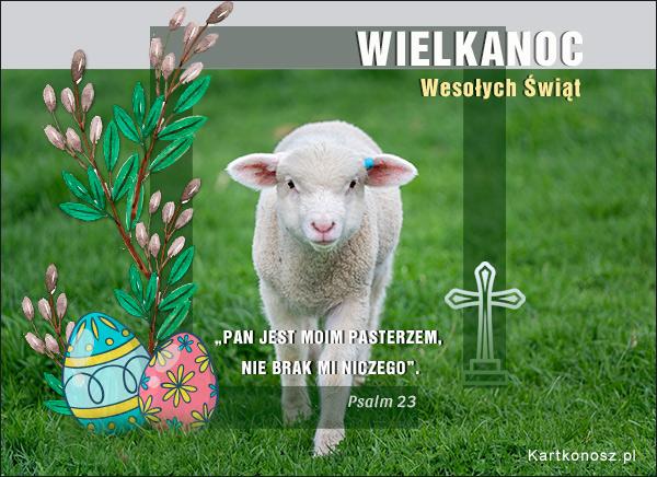 Wielkanocna owieczka