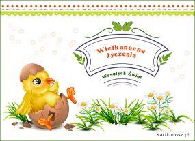 e Kartki  z tagiem: Kartka elektroniczna Kartka na Wielkanoc,
