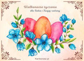 e Kartki  z tagiem: Kartka elektroniczna Wielkanocne pisanki,