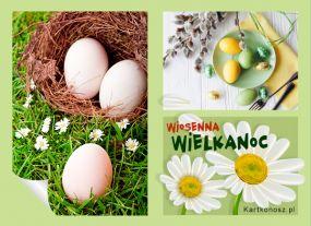 e Kartki  z tagiem: Kartka elektroniczna Wiosenna Wielkanoc,