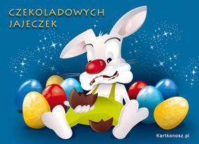 eKartki Wielkanoc Czekoladowych jajeczek,