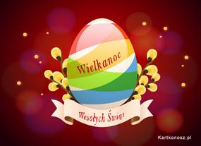 eKartki Wielkanoc Malowane jajko dla Ciebie,