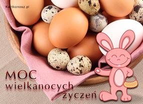 eKartki Wielkanoc Moc wielkanocnych życzeń,