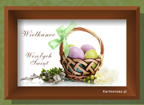 e Kartki  Obraz Świąt Wielkanocnych,