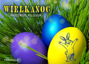 eKartki Wielkanoc Radosnego Alleluja,