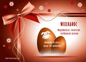 eKartki Wielkanoc Smacznych jajeczek wielkanocnych,