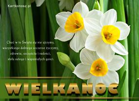 e Kartki Wielkanoc Szczere wielkanocne życzenia,