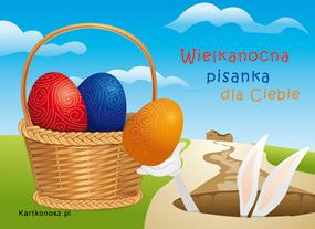 eKartki Wielkanoc Wielkanocna pisanka dla Ciebie,