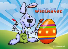 eKartki Wielkanoc Wielkanocne malowanki,