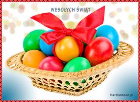 eKartki Wielkanoc Wielkanocny koszyczek,