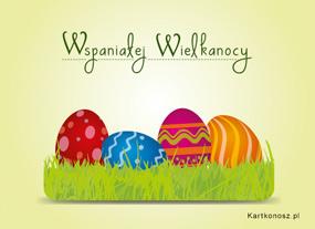 eKartki Wielkanoc Wspaniałej Wielkanocy,