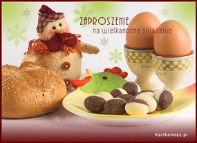 eKartki Wielkanoc Zaproszenie wielkanocne,