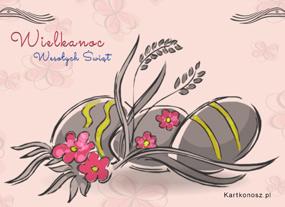 eKartki Wielkanoc Jajeczka wielkanocne,