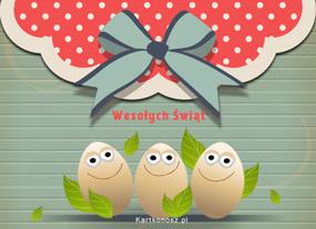 Kartka z jajami