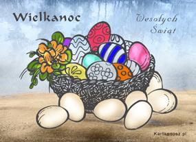 eKartki Wielkanoc Malowanki wielkanocne,