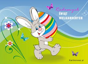 e Kartki  Radość z Wielkanocy,