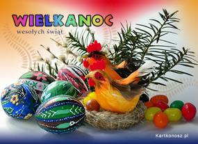 eKartki Wielkanoc Stroik Wielkanocny,