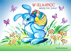 eKartki Wielkanoc Tęczowa Wielkanoc,