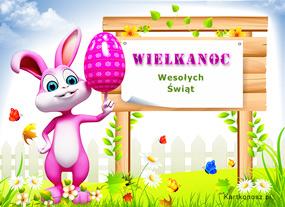 eKartki Wielkanoc Wielkanocne ogłoszenie,