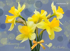 eKartki Wielkanoc Wielkanocny bukiecik,