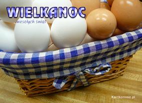 eKartki Wielkanoc Wielkanocny kosz,