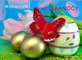 e Kartki  Wspaniałej Wielkanocy,