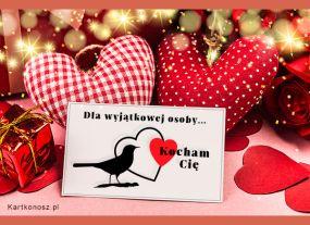 e Kartki  z tagiem: Walentynki kartki Dla wyjątkowej osoby ...,