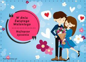eKartki Miłość - Walentynki W dniu Świętego Walentego,