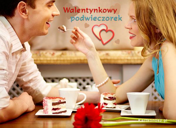 Walentynkowy podwieczorek