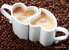 eKartki Miłość - Walentynki Kawa o poranku,