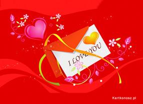 eKartki Miłość - Walentynki Miłosny liścik,
