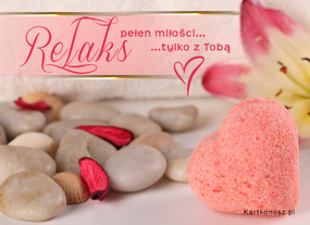 eKartki Miłość - Walentynki Miłosny relaks,