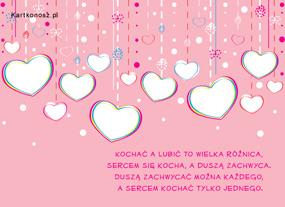 eKartki Miłość - Walentynki Serduszka,