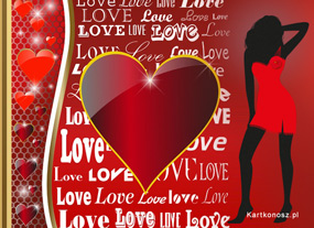eKartki Miłość - Walentynki Serduszkomania,