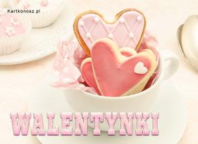 eKartki Miłość - Walentynki Walentynki z lukrem,