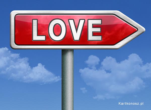 Drogowskaz miłośći