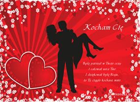 eKartki Miłość - Walentynki Dla ukochanej osoby,