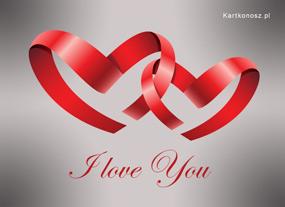 eKartki Miłość - Walentynki Dwa serduszka,