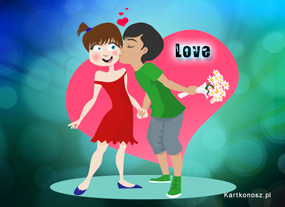 eKartki Miłość - Walentynki Jesteś moją miłością,