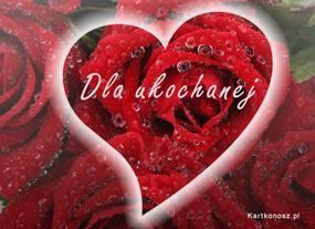 eKartki Miłość - Walentynki Kartka dla ukochanej,