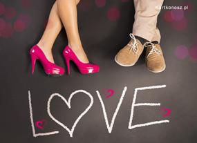 eKartki Miłość - Walentynki Kartka pełna miłości,
